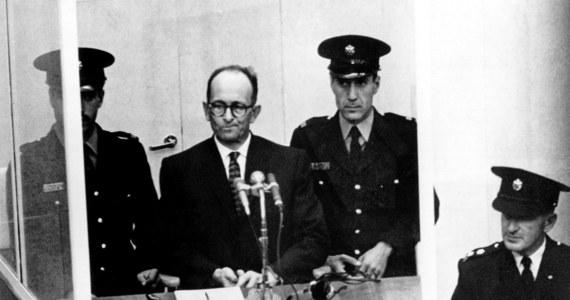 """55 lat temu, 15 grudnia 1961 r., sąd w Jerozolimie skazał na karę śmierci Adolfa Eichmanna - szefa wydziału żydowskiego w Głównym Urzędzie Bezpieczeństwa Rzeszy, """"mordercę zza biurka"""", odpowiedzialnego za śmierć milionów Żydów."""