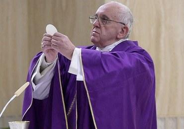 Papież Franciszek skończył 80 lat. Zaprosił na śniadanie bezdomnych