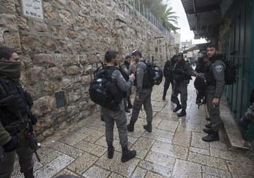 Starcie sił policyjnych z Palestyńczykami. Nie żyje 19-latek