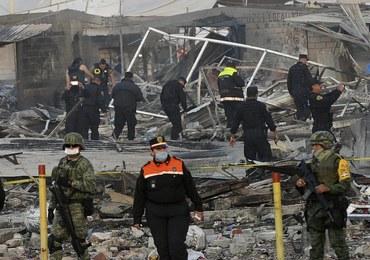 Wybuch fajerwerków na targowisku. Nie żyje 31 osób