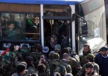 Wznowiono ewakuację Aleppo. Wśród ratowanych są pacjenci szpitala