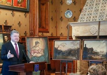 Ukraińskie władze zwróciły obrazy skradzione z włoskiego muzeum