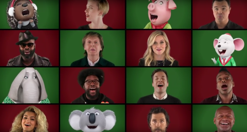 Zobaczcie tegoroczną świąteczną piosenkę przygotowaną przez Jimmy'ego Fallona i jego współpracowników z programu. Kogo tym razem zaprosił?