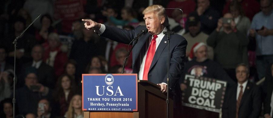 Prezydent elekt USA Donald Trump, mówiąc o konieczności zwiększania potencjału nuklearnego USA, miał na myśli zapobieganie ryzyku związanemu z rozprzestrzenianiem broni jądrowej - oświadczył rzecznik Trumpa, Jason Miller.