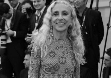 """Nie żyje Franca Sozzani - redaktor naczelna włoskiego """"Vogue'a"""". Na czele biblii mody stała 28 lat"""