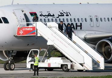 Uprowadzono samolot libijskich linii lotniczych. Zakładnicy zwolnieni, porywacze opuścili pokład