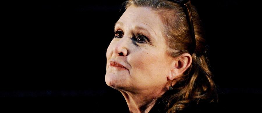 """""""Miałam 24 lata, gdy powiedziano mi, że cierpię na chorobę afektywną dwubiegunową. Nie byłam w stanie zaakceptować tej diagnozy do 28. roku życia – wtedy przedawkowałam i w końcu wytrzeźwiałam"""" - tak niecały miesiąc przed swoją śmiercią pisała Carrie Fisher w artykule dla brytyjskiego """"Guardiana"""". Odtwórczyni roli księżniczki Lei w """"Gwiezdnych wojnach"""" zmarła wczoraj w szpitalu w Los Angeles. Miała 60 lat."""