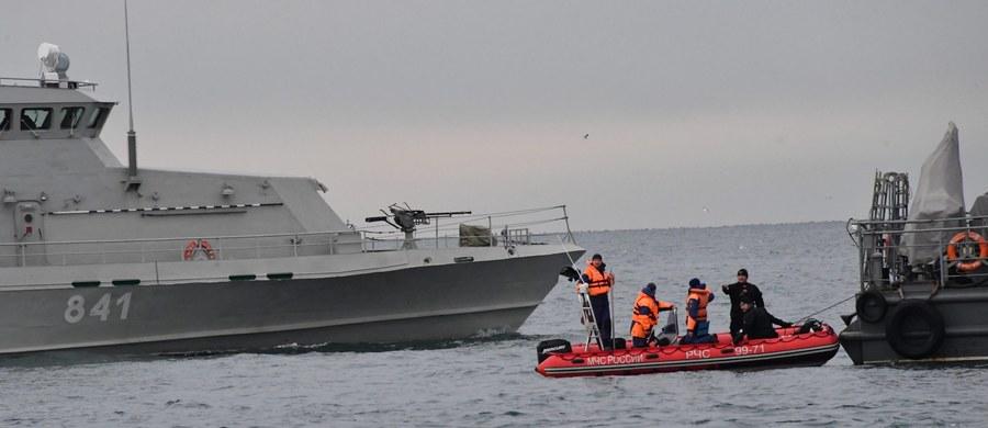 Ciało kolejnych trzech ofiar znaleziono na miejscu katastrofy samolotu Tu-154 rosyjskiego ministerstwa obrony, który spadł w niedzielę do Morza Czarnego krótko po starcie w Soczi - poinformowała agencja TASS, powołując się na służby poszukiwawcze.