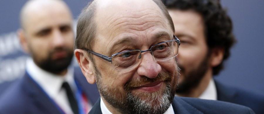 """Szef Parlamentu Europejskiego, niemiecki socjaldemokrata Martin Schulz nie zamierza startować jako kandydat swojej partii SPD na kanclerza w wyborach parlamentarnych w 2017 roku - poinformował """"Der Spiegel"""", powołując się na własne źródła."""
