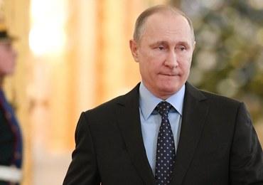 """Putin: Nie zamierzamy wydalić nikogo. Rosja nie zniży się do poziomu """"kuchennej dyplomacji"""""""