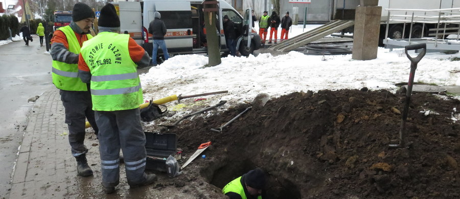 450 osób ewakuowano ze szkoły podstawowej nr 4 przy ulicy Krzyszkowickiej w Wieliczce. Uszkodzony został gazociąg.