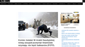 Koniec świata! W Arabii Saudyjskiej śnieg zasypał pustynię! Imamowie wzywają: nie lepić bałwanów (FOTO, WIDEO) – Reporters.pl