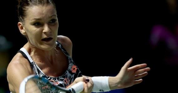 Najwyżej rozstawiona Agnieszka Radwańska uległa Amerykance Alison Riske (8.) 2:6, 6:3, 0:6 w ćwierćfinale turnieju tenisowego WTA w Shenzen (pula nagród 626 750 dolarów). Był to pojedynek finalistek ubiegłorocznej edycji zmagań w Chinach - wtedy wygrała Polka.