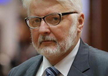 Witold Waszczykowski: Dzisiejsi władcy Kremla nie są wieczni