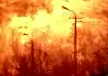 Pożar i wybuch na stacji benzynowej [FILM]