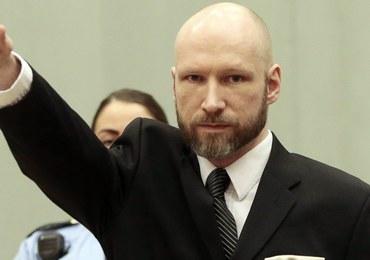 Prokurator: Breivik chce szerzyć z więzienia swoją ideologię