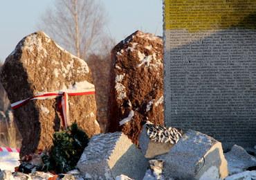 Pomnik Polaków zamordowanych w Hucie Pieniackiej został wysadzony