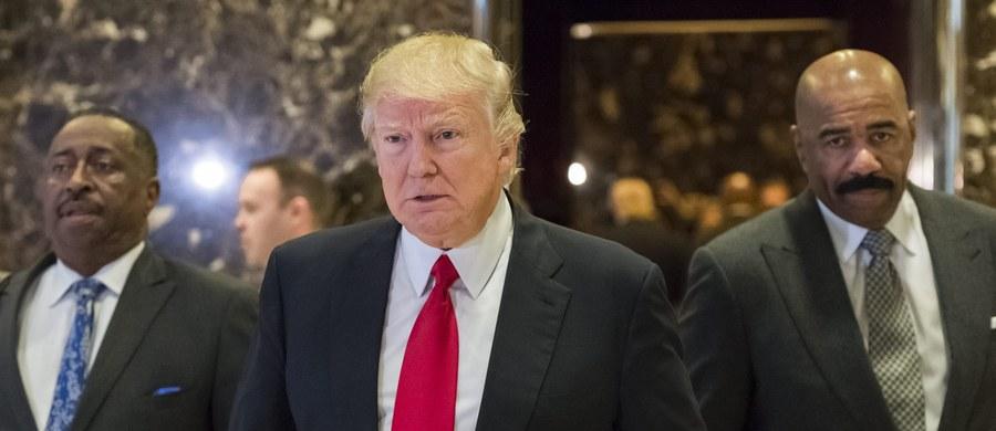 """Prezydent elekt USA Donald Trump powiedział """"Wall Street Journal"""", że jest otwarty na zniesienie sankcji wobec Rosji. Może zarazem odstąpić od uznawania polityki """"jednych Chin"""" jeśli Pekin nie zerwie z praktykami, które osłabiają amerykańską gospodarkę."""