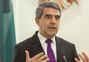 Prezydent Bułgarii przestrzega następcę przed uznaniem aneksji Krymu