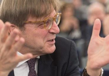 Verhofstadt marzy, by zająć miejsce Tuska