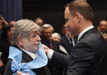Szewach Weiss odznaczony Orderem Orła Białego