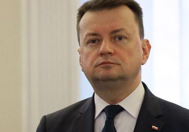 Mariusz Błaszczak: Policja zidentyfikowała 80 osób protestujących w grudniu przed Sejmem
