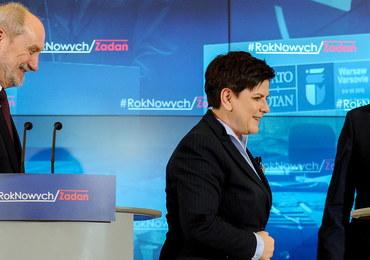 """Zgodna opinia premier i szefów MON i MSWiA: """"Ucho prezesa"""" zabawne"""