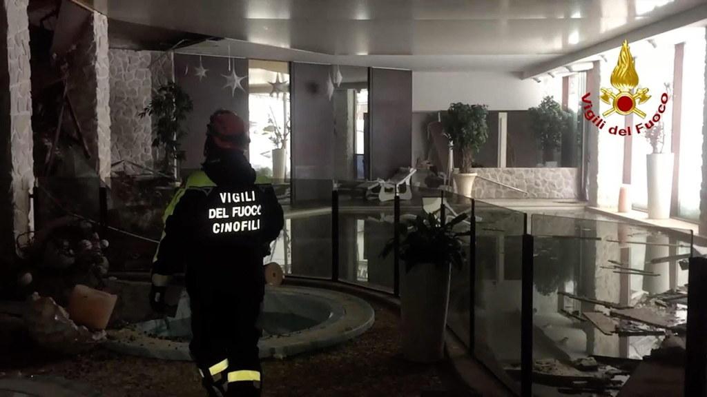 ITALIAN FIRE DEPARTMENT HANDOUT/PAP/EPA