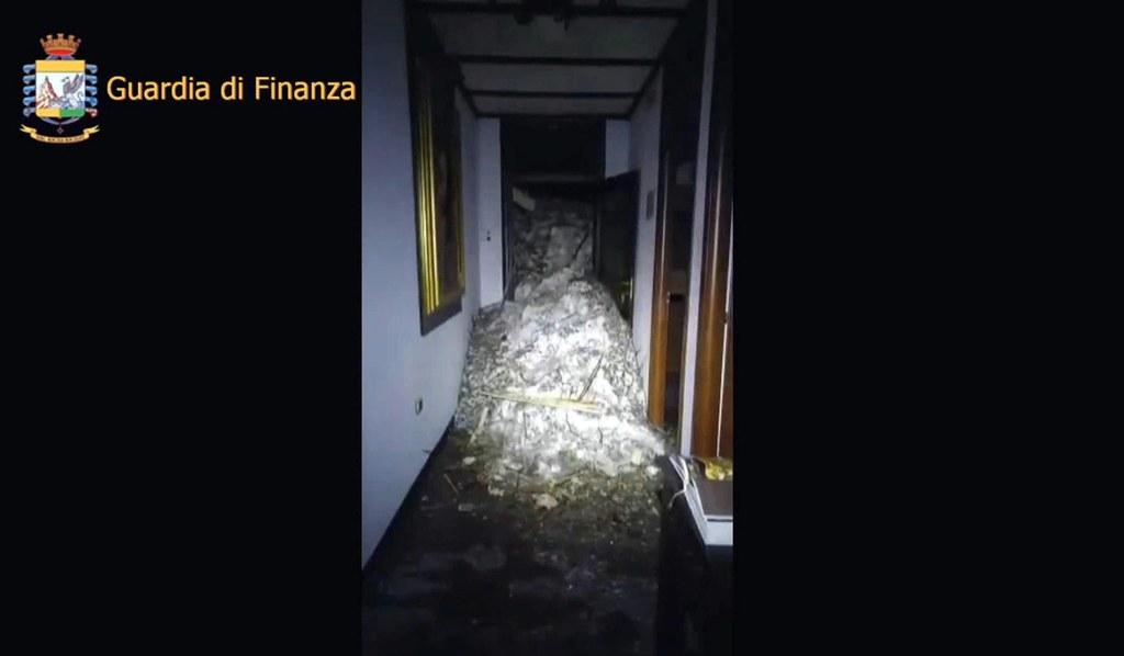 GUARDIA DI FINANZA/PRESS OFFICE/HANDOUT, PAP/EPA