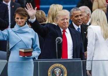 """Donald Trump zaprzysiężony na prezydenta. """"Przenosimy władzę z Waszyngtonu i dajemy ją wam"""""""