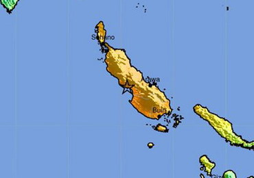 """Silne trzęsienie ziemi w """"pierścieniu ognia"""". Wydano ostrzeżenie przed tsunami"""