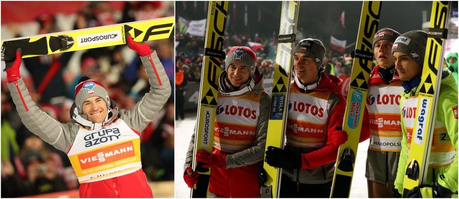 Kamil Stoch - który w niedzielę triumfował w Zakopanem w czwartym z rzędu konkursie Pucharu Świata i przewodzi stawce w klasyfikacji generalnej całego cyklu - jest również zdecydowanym liderem listy płac. Po 14 z 33 konkursów na jego koncie pojawiło się już w sumie 106 300 franków szwajcarskich, czyli około 437 tysięcy złotych.