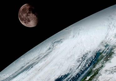 Pierwsze takie zdjęcia Ziemi. I Księżyca