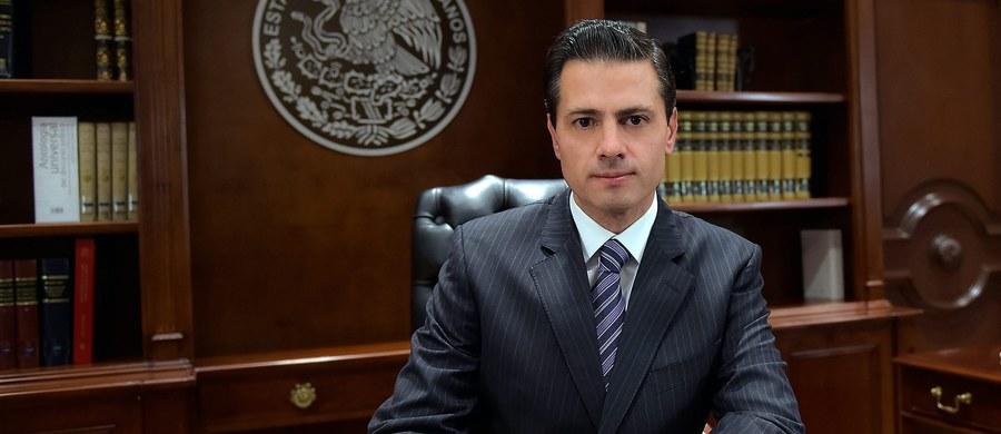 """""""Żałuję i nie akceptuję decyzji Stanów Zjednoczonych ws. budowy muru"""" - oświadczył w telewizyjnym orędziu prezydent Meksyku Enrique Pena Nieto. Powtórzył, że jego kraj nie poniesie żadnych kosztów z tego tytułu."""