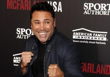 Słynny pięściarz Oscar De La Hoya w areszcie. Prowadził pod wpływem alkoholu
