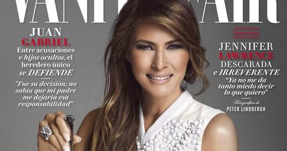 """Prezydent USA podpisał rozporządzenie przewidujące rozpoczęcie budowy muru na granicy między Meksykiem a Stanami Zjednoczonymi. Nie mógł wybrać gorszego momentu dla szefostwa meksykańskiej edycji """"Vanity Fair"""". Na okładce lutowego wydania pisma jest bowiem Pierwsza Dama Ameryki, Melania Trump."""