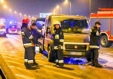 Szef MON: Wypadek nie został spowodowany przez kierowcę samochodu, którym jechałem