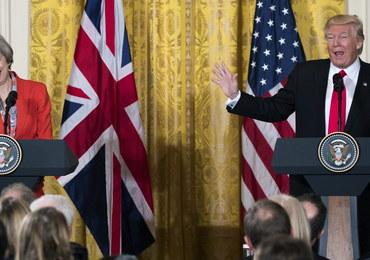 Brytyjskie media pozytywnie o wizycie May w Białym Domu
