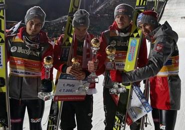 Polacy wygrali drużynowy konkurs PŚ w Willingen. W niedzielę skoki indywidualne