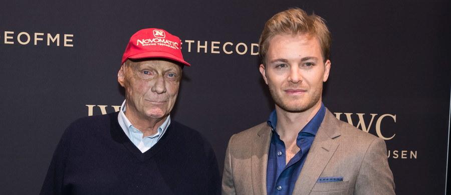 """""""Gdyby Nico Rosberg nie miał do dyspozycji tak szybkiego bolidu, jakim był nasz, i do tego całego świetnego zespołu, nie zdobyłby tytułu mistrza świata"""" - uważa dyrektor sportowy zespołu Formuły 1 Mercedes GP Niki Lauda. Według niego, Rosberg właśnie dzięki temu, że trafił do teamu Mercedesa, poczynił ogromne postępy jako kierowca i zdołał w poprzednim sezonie zdobyć tytuł."""