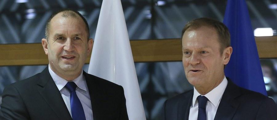 """Szef Rady Europejskiej Donald Tusk uznał za """"niepokojące"""" niektóre deklaracje administracji Donalda Trumpa, które - w jego ocenie - """"stawiają Unię Europejską w trudnej sytuacji""""."""