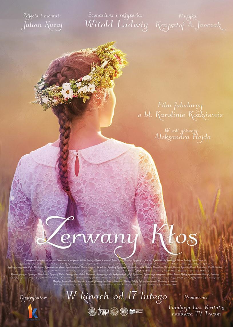 """W niedzielę, 5 lutego, w Warszawie i Krakowie odbędą się przedpremierowe pokaz filmu """"Zerwany Kłos"""". Jest to dramat historyczny o męczeńskiej śmierci bł. Karoliny Kózkówny."""