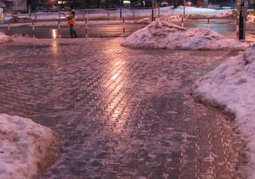 """Szklanka na drogach i chodnikach. """"Takiej ślizgawicy chyba jeszcze tej zimy nie było"""""""