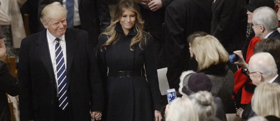 Gdzie jest pierwsza dama Ameryki? Melania Trump nie pokazała się publicznie od czasu wyjazdu z Waszyngtonu, po zaprzysiężeniu Donalda Trumpa.