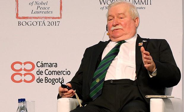 """Budowa europejskiej wspólnoty nie jest łatwa - mówił Lech Wałęsa podczas XVI Światowego Szczytu Laureatów Pokojowej Nagrody Nobla w Bogocie. Były prezydent podkreślał, że rewolucja """"Solidarności"""" miała wpływ na kształt dzisiejszej Europy."""