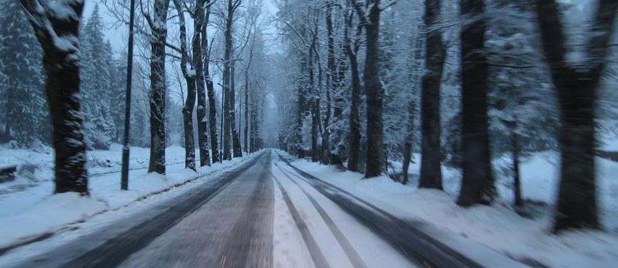 Bardzo trudna sytuacja na drogach na Podkarpaciu i w Małopolsce. O poranku drogi są bardzo śliskie. Doszło już do czterech wypadków.