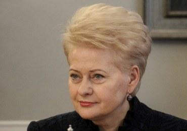 Rosną obawy przed Rosją. Mocne słowa prezydent Litwy