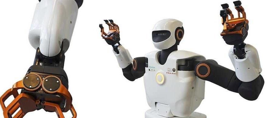 """Francuscy naukowcy stworzyli mechanicznego """"robotnika XXI wieku"""". Chodzi o robota humanoida o nazwie """"Pyrene"""", który ma zacząć zastępować wysoko kwalifikowanych robotników na budowach i w fabrykach - m.in. w zakładach koncernu Airbus."""