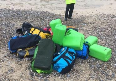 360 kilogramów kokainy znaleziono na plaży