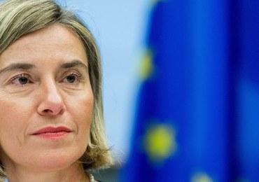 """Mogherini ostrzega administrację Trumpa. """"Nie ingerujcie w naszą politykę"""""""
